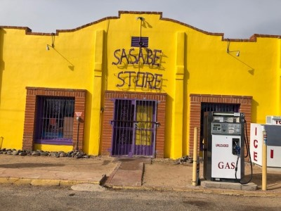 Sasabe Store in Mexico
